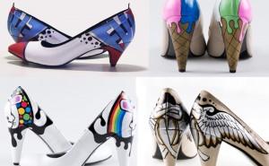 CrAi??ativitAi?? nos sapatos da Oyee Design.
