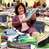 Americana de 63 anos A� dona da maior coleA�A?o de Converse do mundo!