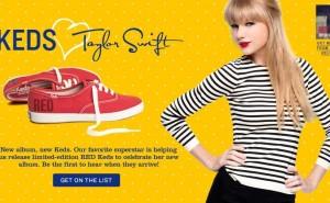 Keds + Taylor Swift