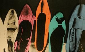 Os sapatos de Andy Warhol!
