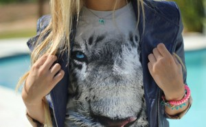 T-shirt animal face